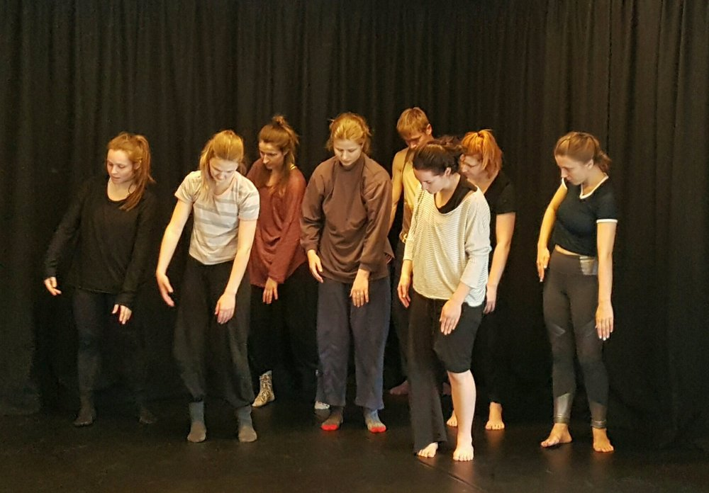 The Human Arts Movement - 'Creatures' rehearsal