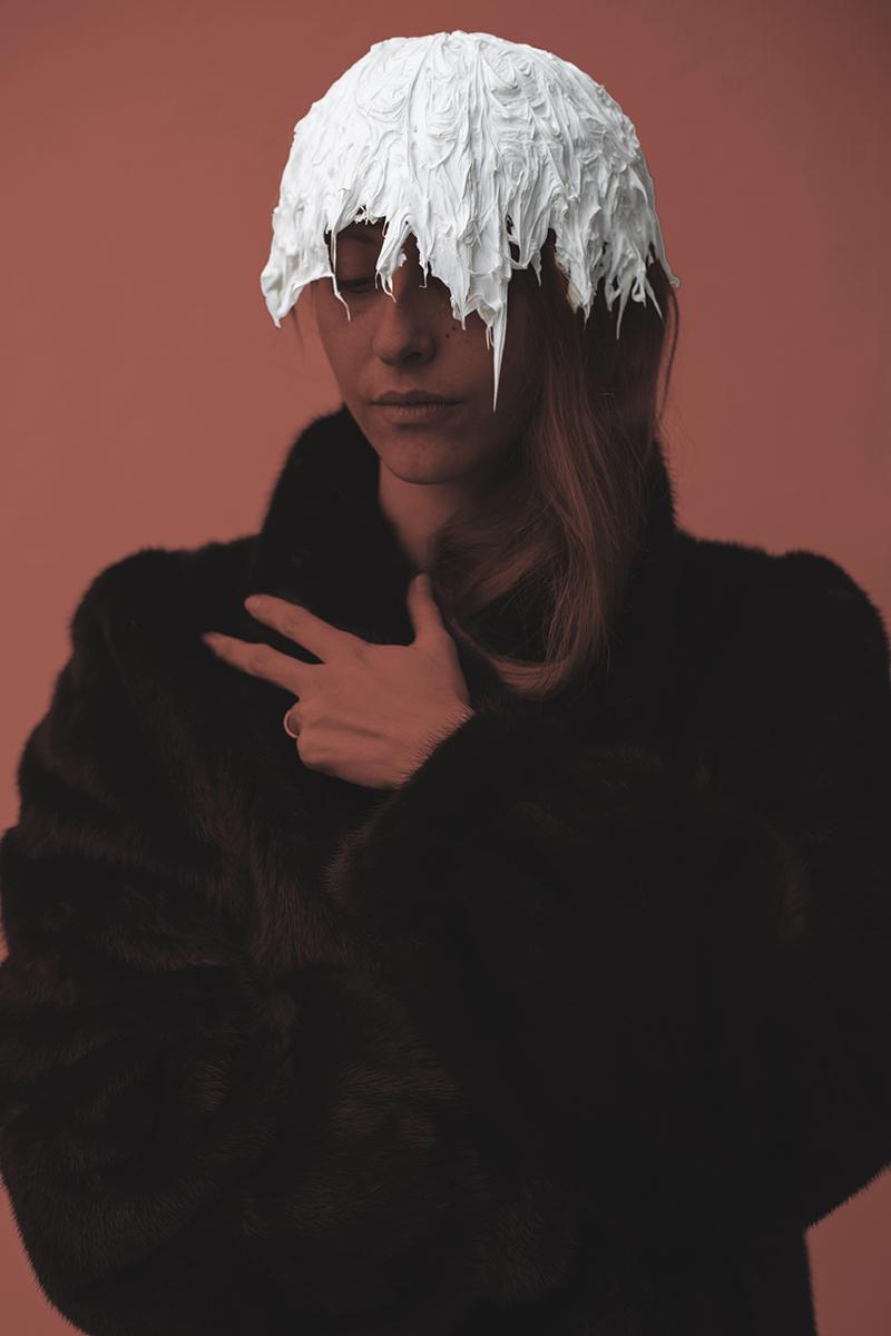 My eternal muse Elif Sanem Karakoc modeling.