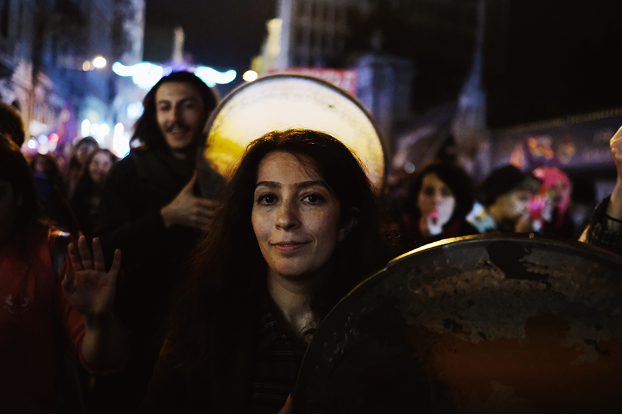 I photographed the whole Feminist Night Walk in Istanbul with the X-T2.