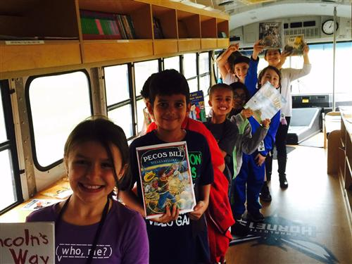 Hornet's Foundation Book Bus