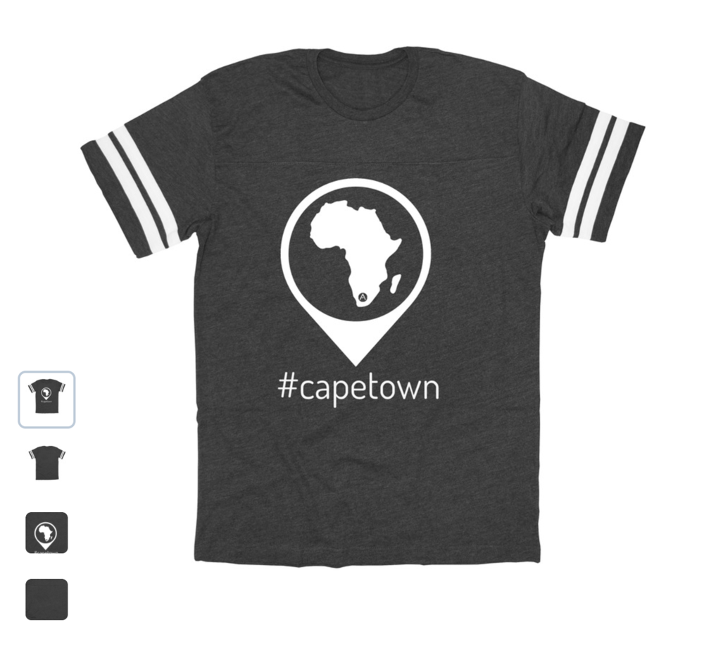Rock one of our #capetown shirts and support ADS while looking good! (Alternate Styles and colors available!)