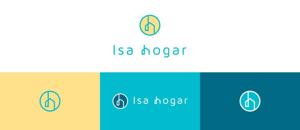 Identidad visual - Isa Hogar - logo