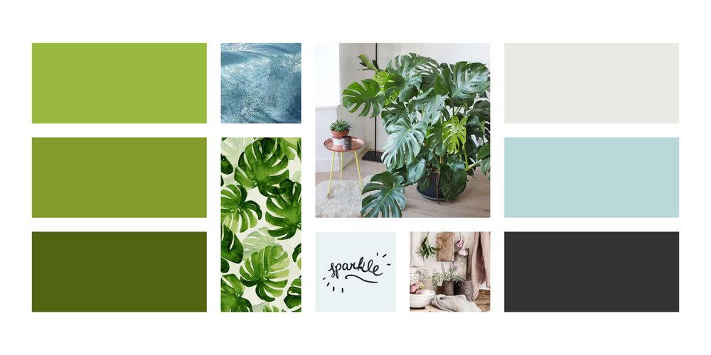 Greenspark tablero de inspiracion