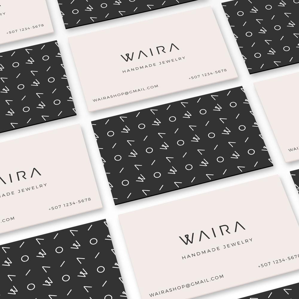 Identidad Waira - tarjetas