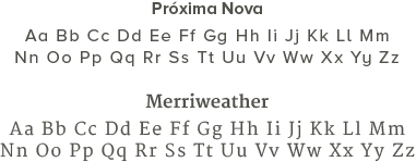 Para ser más versátil, una identidad de marca puede tener entre 1 y 3 tipografías las cuales se incluirán en la guía de estilo.