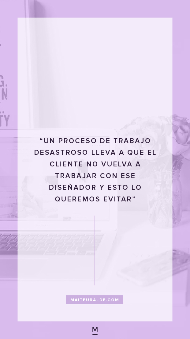 Descubre los detalles de mi proceso de diseño, desde el primer contacto con el cliente hasta el lanzamiento de su nueva imagen. También podrás descargar un checklist de mi proceso para que lo uses como guía para crear el tuyo propio.