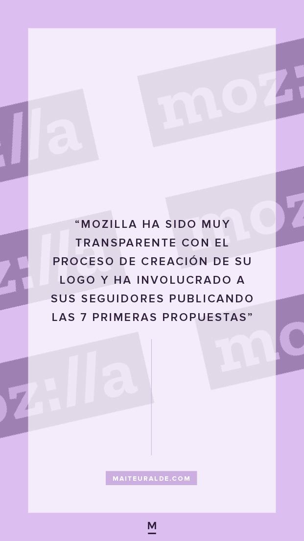 Mozilla tiene nuevo logo