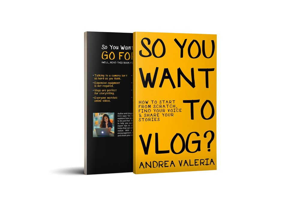 so you want to vlog? Andrea Valeria Its a Travel OD