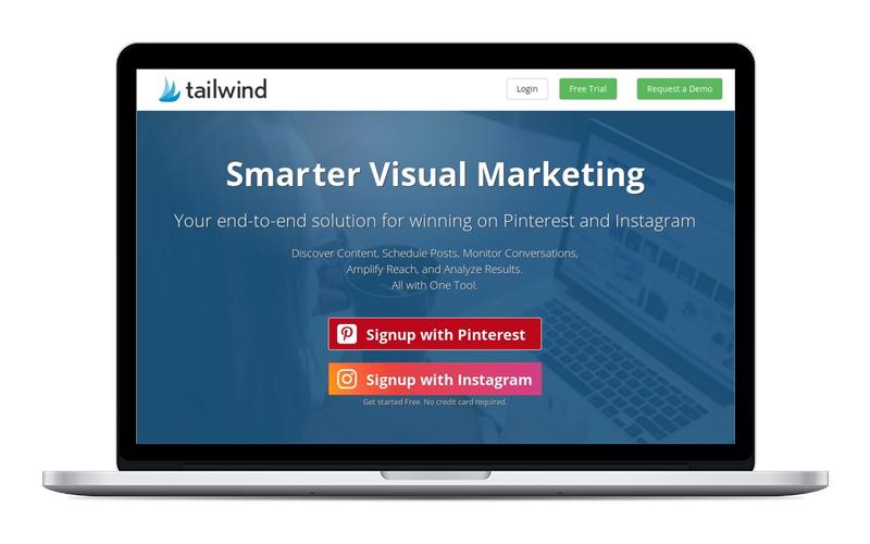 Tailwind - Enfocado para programar Pinterest. Es súper potente y ayuda un montón a que le saquemos provecho a esa red social.Versión paga. Al registrarte con mi link te regalan un mes del servicio :)