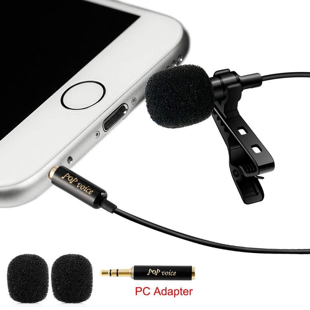 micrófono de solapa - Lo conecto al teléfono para tener mejor audio en los lives o videos que grabo con el teléfono.