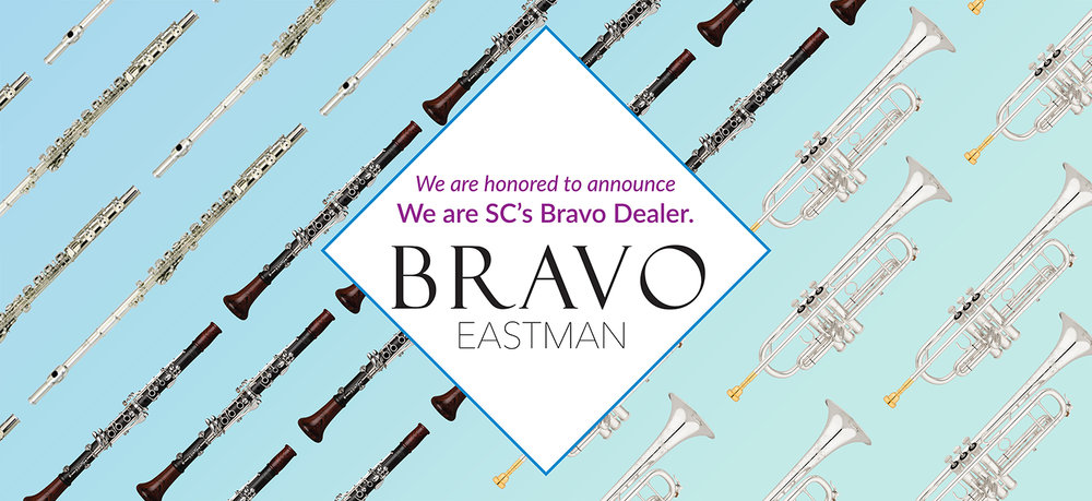 Instruments by Bravo, Eastman, WM. S. Haynes, Backun, S.E. Shires, exclusively at Musical Innovations in Greenville SC