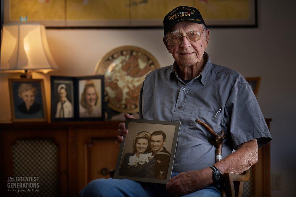 Donald Long - World War II veteran