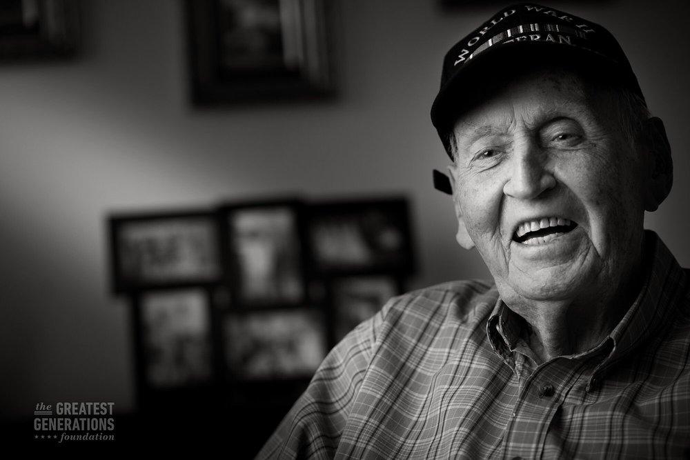 Glenn Angle - World War II veteran