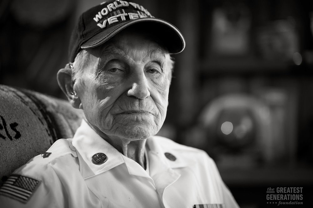 Homer Golden - World War II veteran
