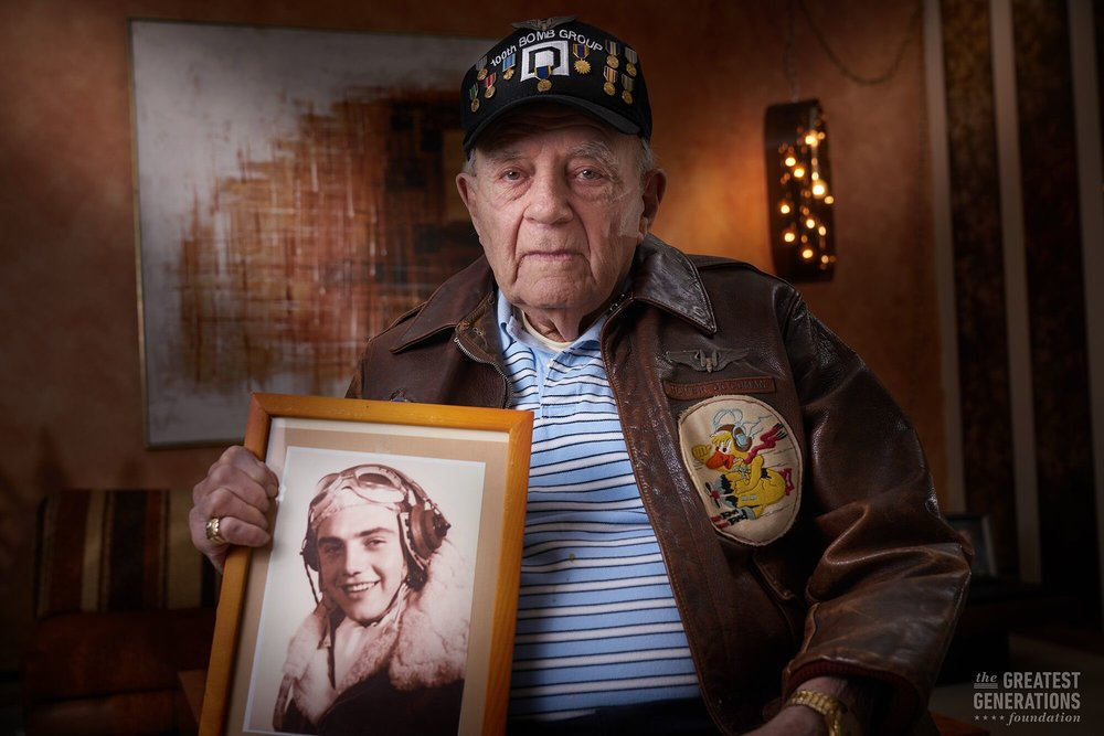 Homer Goodman - World War II veteran