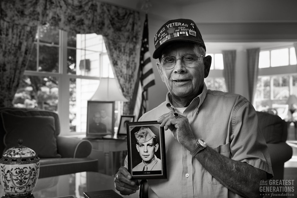 Joe Mack - World War II veteran