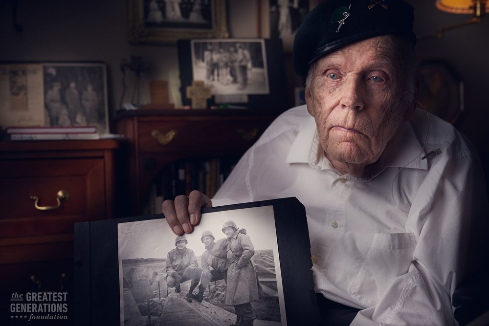 Tom Hope - World War II veteran