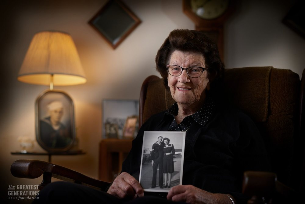 Marian Wynn - World War II veteran