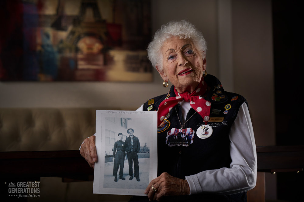 Kay Morrison - World War II Veteran