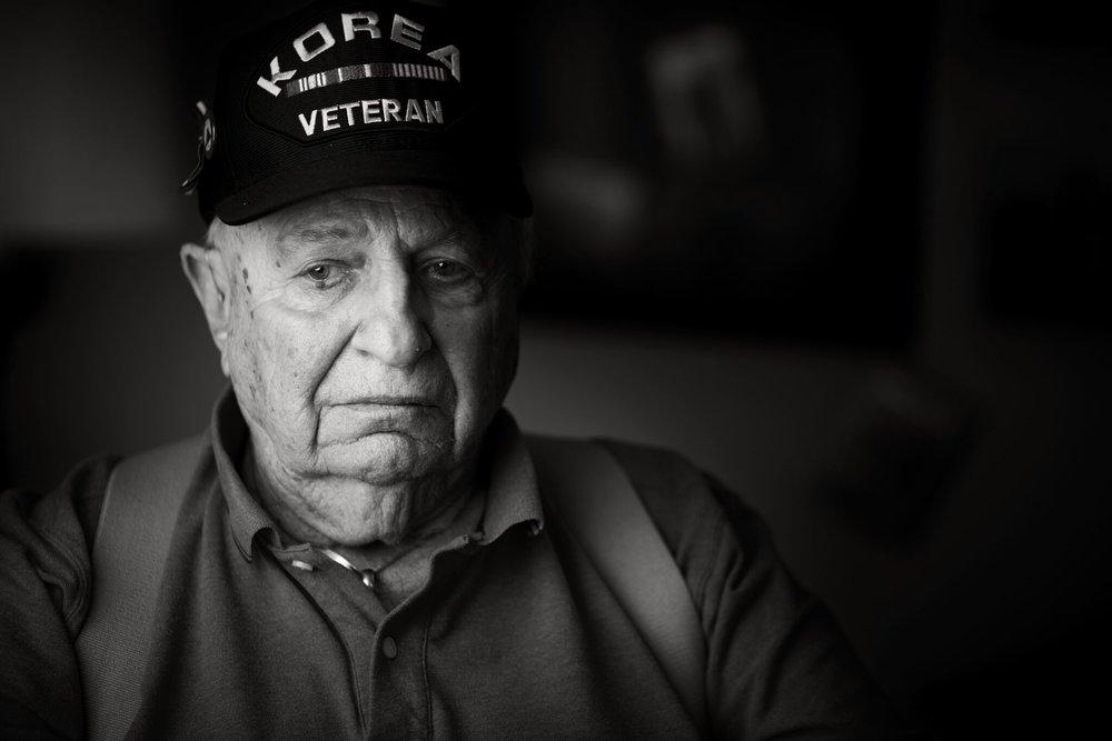 Russell DeBruine - Korean War Veteran