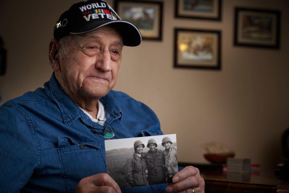 Mike Drakulich - World War II Veteran