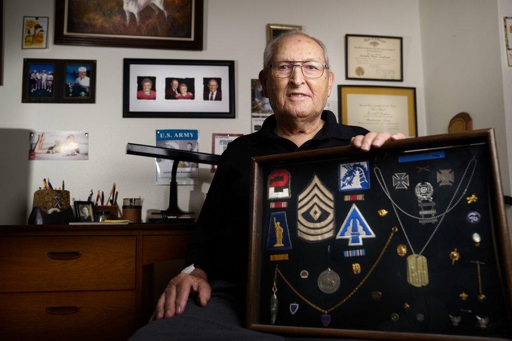 Ken Kauffman - World War II Veteran