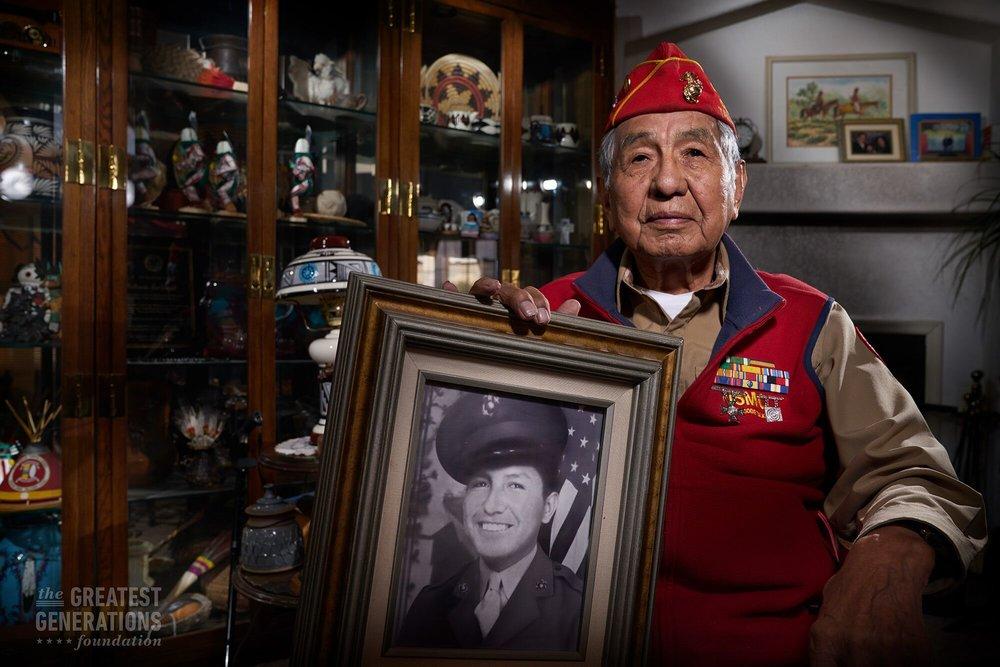 Peter MacDonald - World War II Veteran