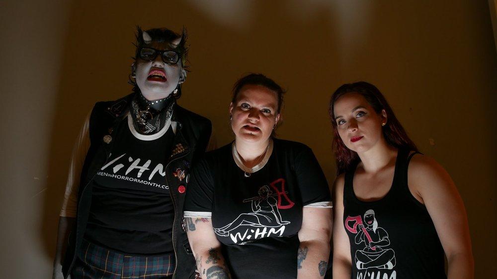 Heather Buckley, Lindsay Serrano, Heather Drew; Women In Horror