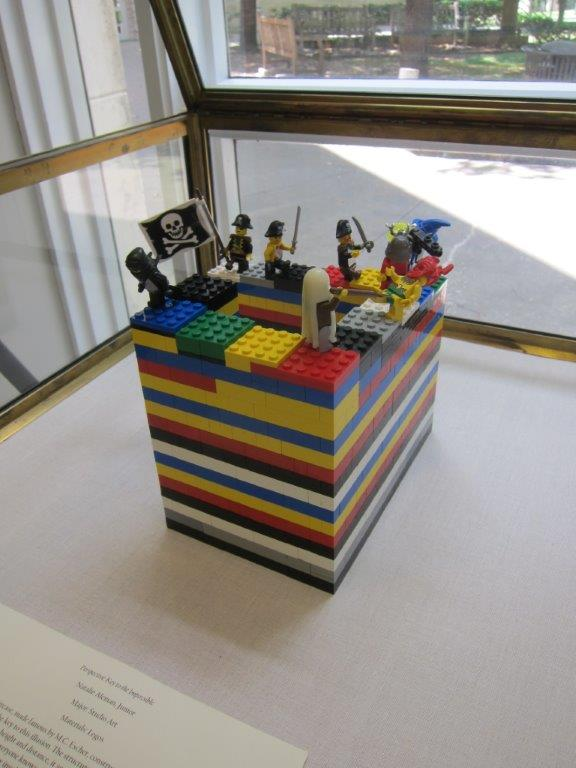 lego impossible staircase (Penrose stairs)