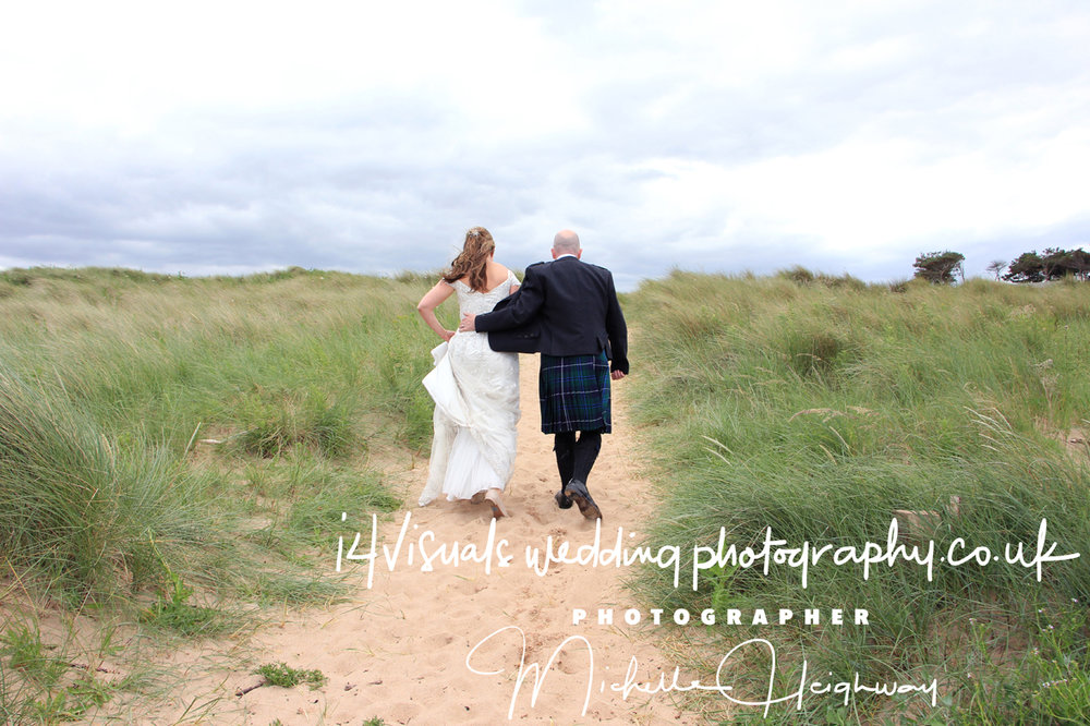 beach wedding edinburgh