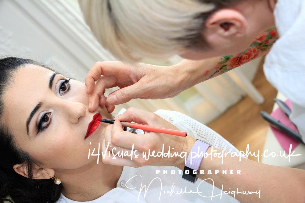Hair and Make-up , Edinburgh Zoo , Wedding Photographer.
