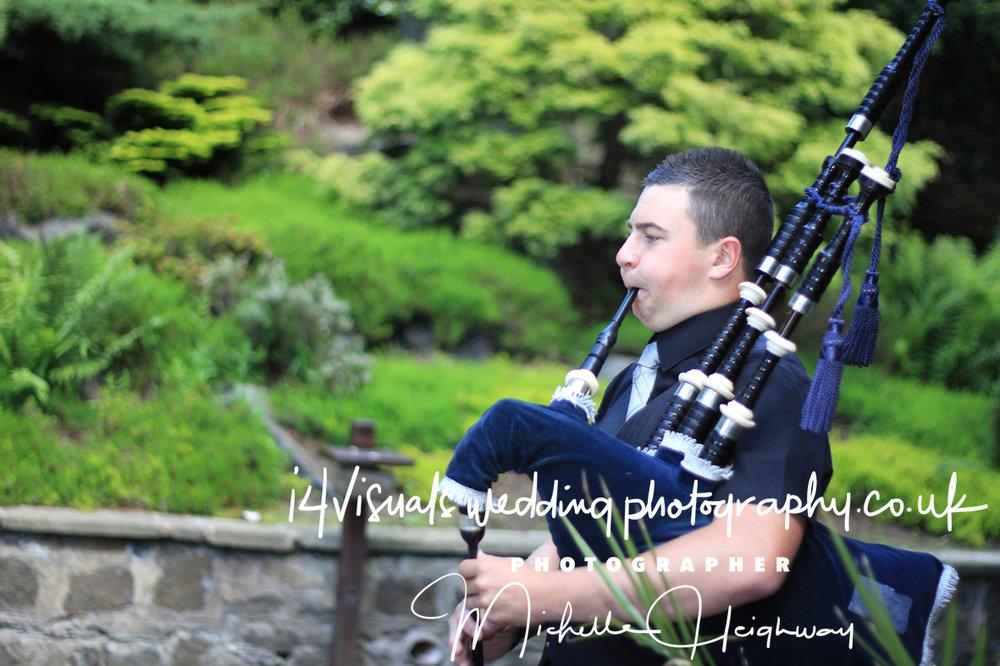 Bagpipes , Wedding Photographer, Edinburgh