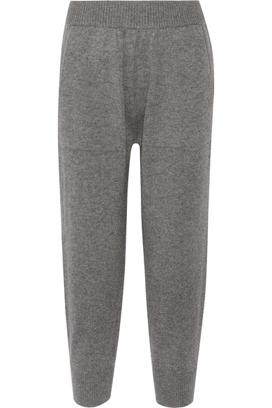MK Collection cashmere trackpants