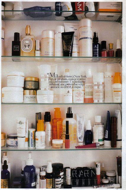 Sofia Coppola's medicine cabinet © 2004 Conde Nast.
