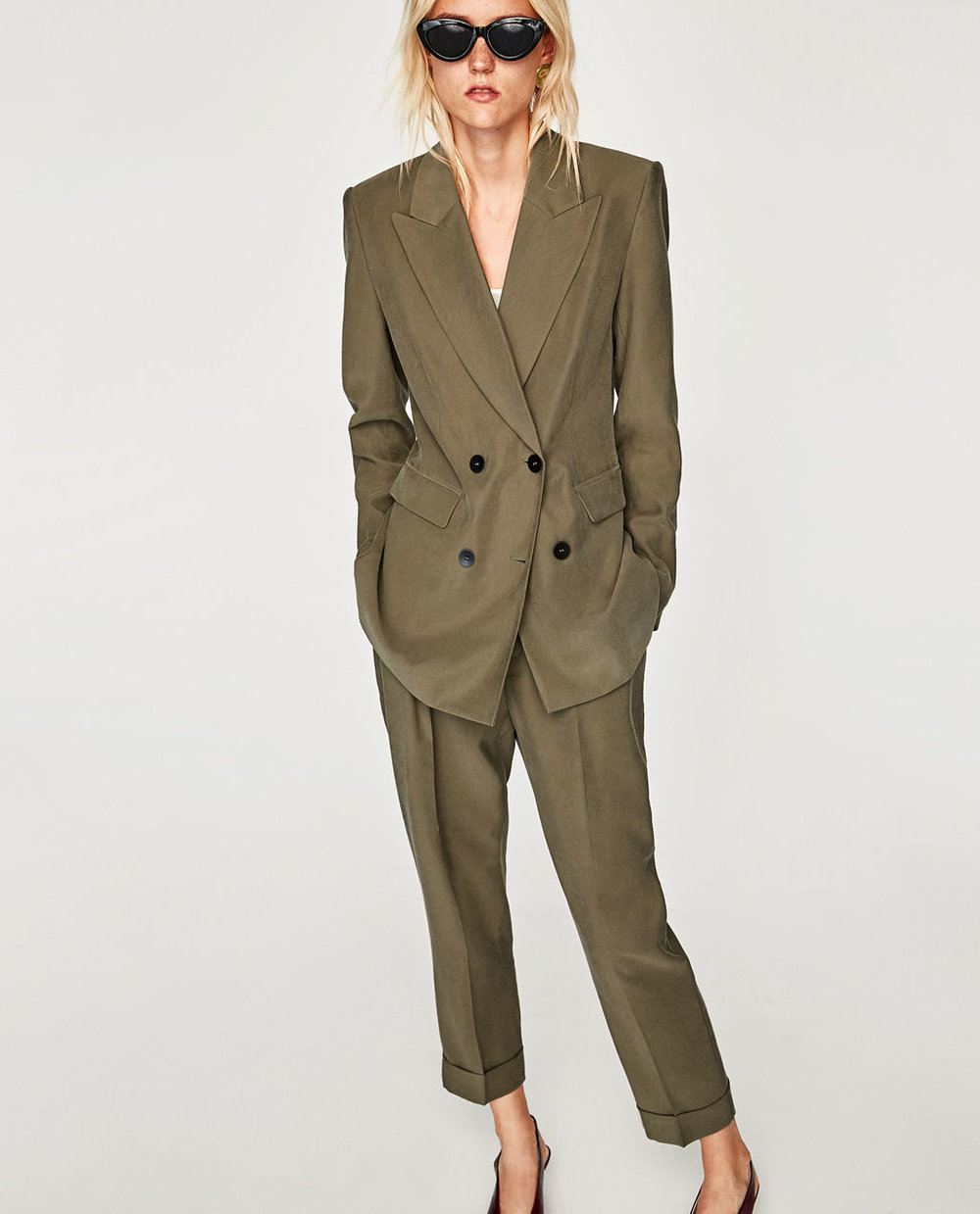 blazer $70  and  trousers $40