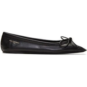 black ballet flat - Balenciaga / for less
