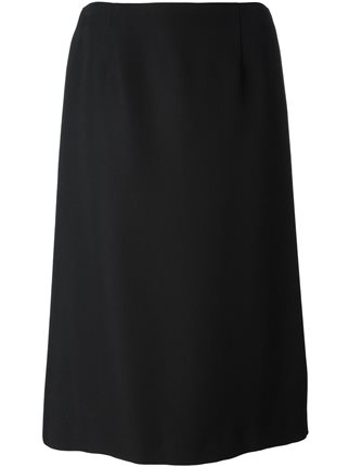 black midi skirt - Maison Margiela / for less