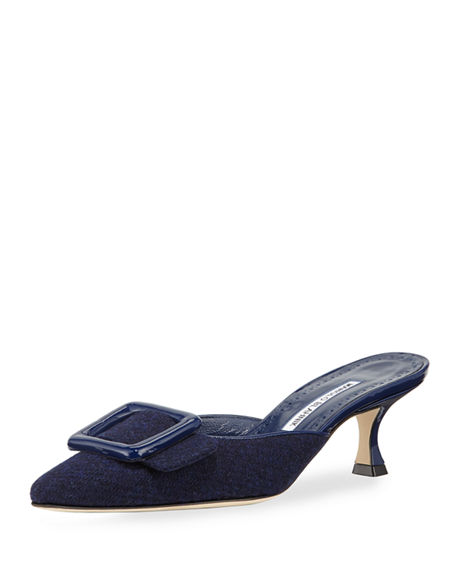 mule - Manolo Blahnik / for less