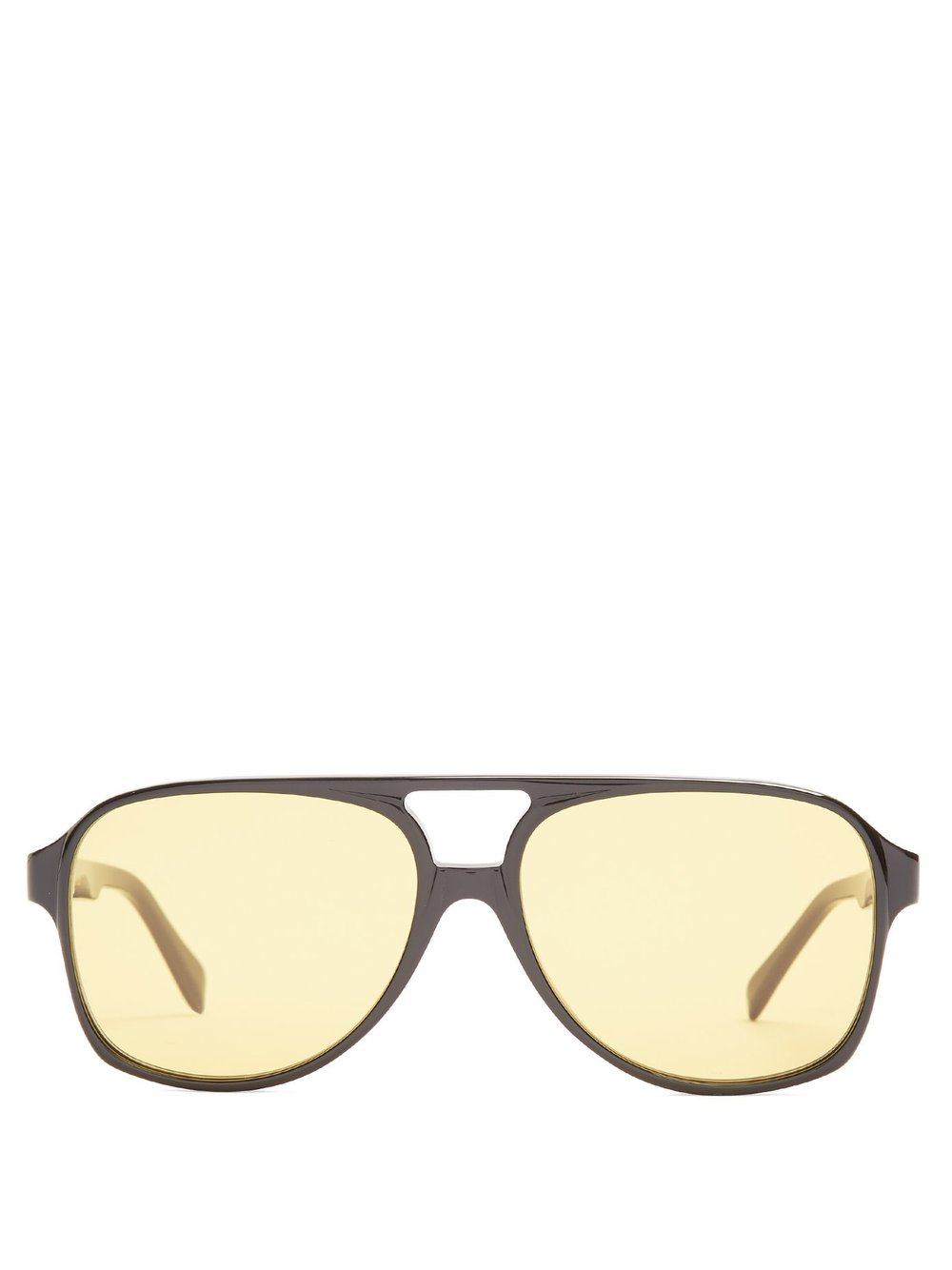 Céline - These sunglasses are my new signature style, and I love wearing them both indoors and outdoors (obnoxious? Maybe).