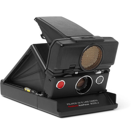 POLAROID ORIGINALS - I love all types of photography and frequently shoot film. this Polaroid Originals SX-70 Sonar instant film compact camera (with manual controls and a 116mm f/8 glass lens!) not only looks sleek, but produces high quality, retro prints.