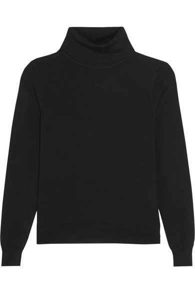 black turtleneck knit - Totême / for less