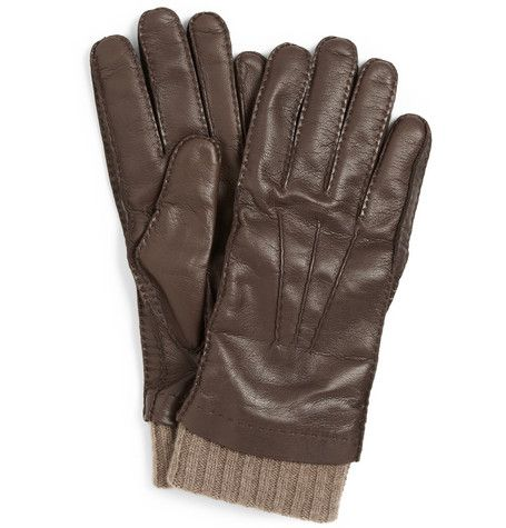 LORO PIANA - these buy-once-cry-once baby cashmere lined leather gloves make for a timeless and luxurious gift.