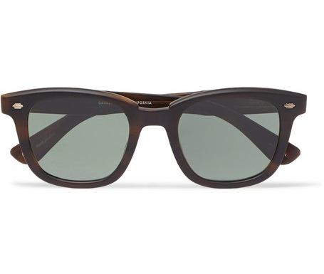GARRETT LEIGHT - my husband's sunglass brand of choice is California-bred Garrett Leight — known for versatility, they're perfect for a day at the beach or a black-tie affair.