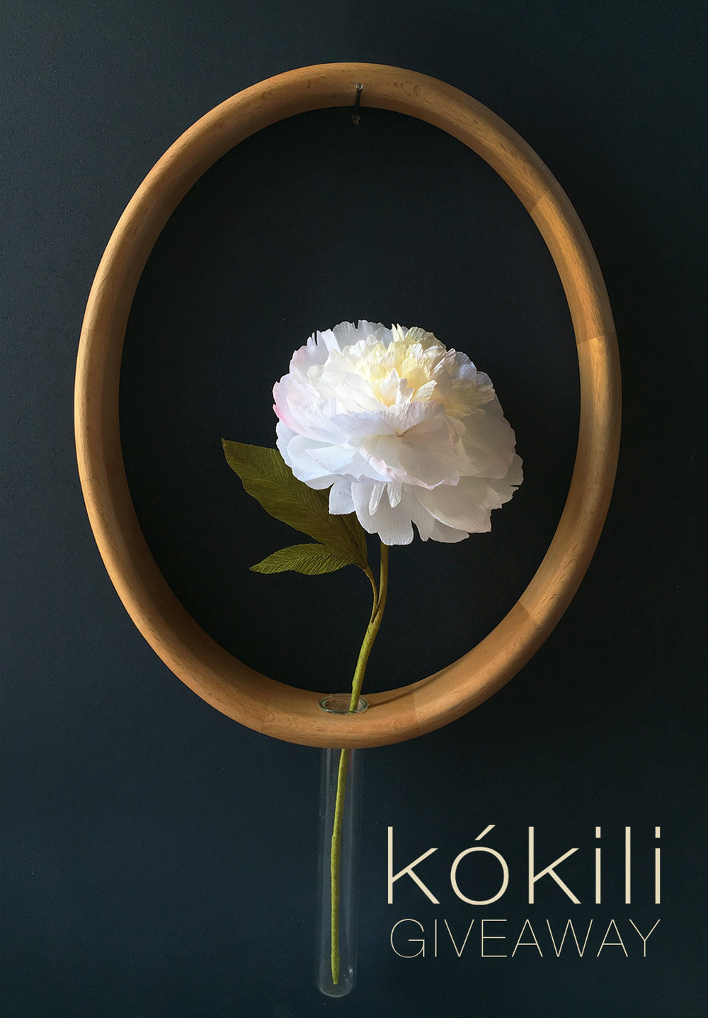 kokili // social media campaign  Conceived of and designed partnership with leading paper flower designer, Lynn Dolan,  to raise awareness of kokili's product launch of the Mary Vase.