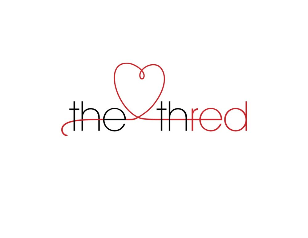 "The Thred // logo  The client wanted to convey the vibe of the relationship app with actual ""thread""."