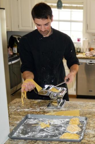 Food Fire + Knives: Private Chef Alessandro Fresh Pasta