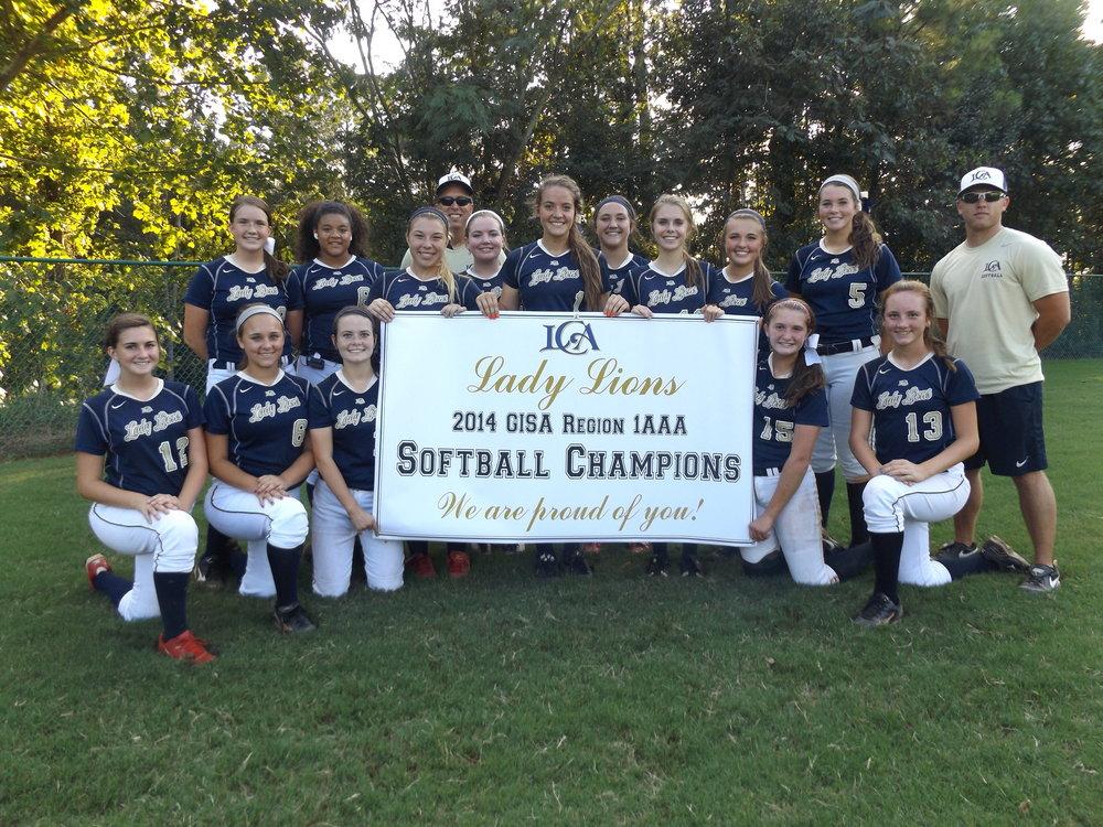 2014 Softball State Champions