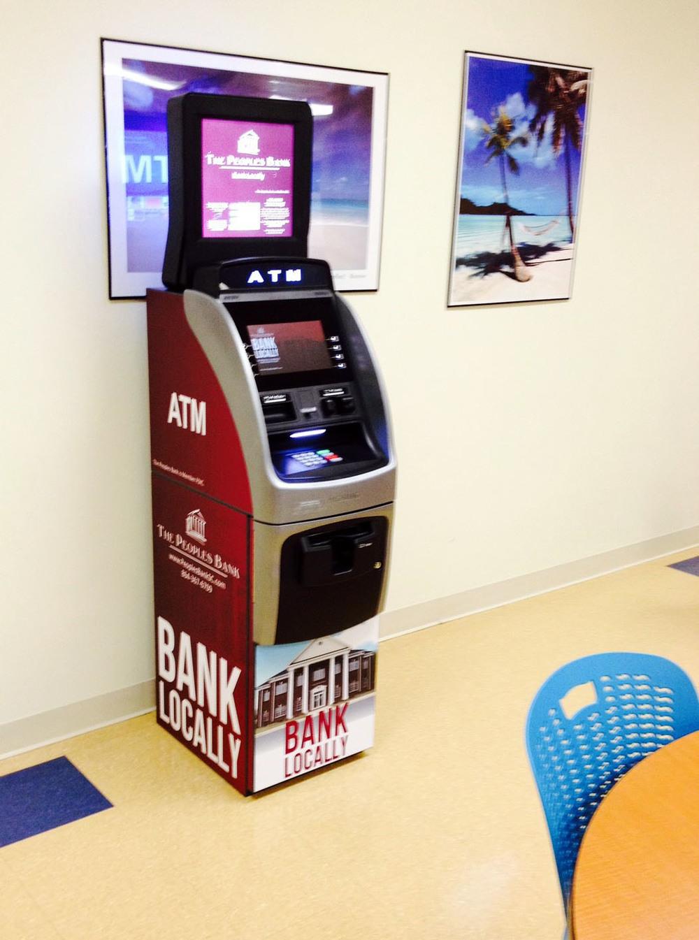 Bank Locally ATM in Break Room