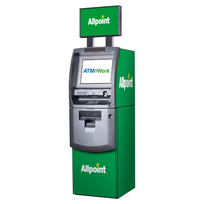 Allpoint or Money Pass Branded ATM