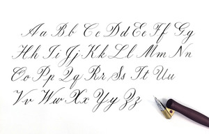 caligraphy template
